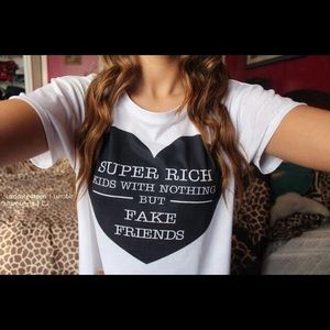 3/$25 sale! Super Rich Kids top